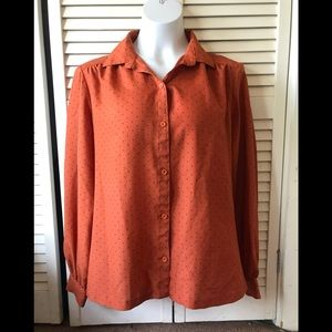 Vintage Silkhana Long Sleeve Blouse
